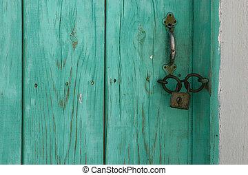 den, dörr