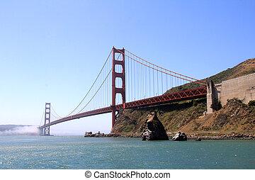 den, gylden låge bro