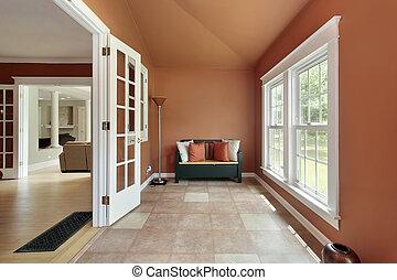 Den in luxury home