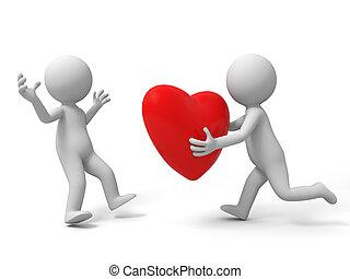 den, kärlek