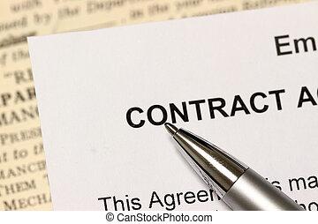 den, kontrakt
