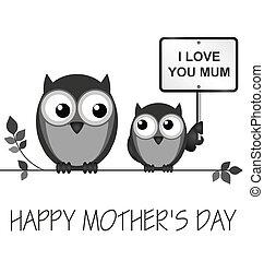 den, matký