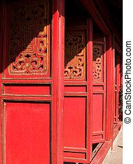 Den Ngoc Son temple in Hanoi, Vietnam