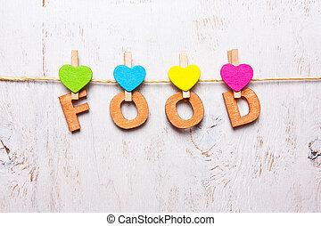"""den, ord, """"food"""", av, den, trä, breven"""