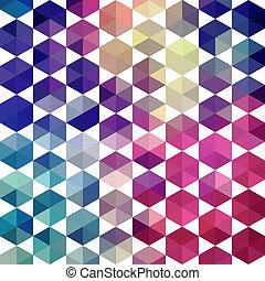 den, triangel, bakgrund, färgrik, mönster, topp, formar, trianglar, bakgrund, bakgrund,  Hipster, mosaik,  Text, plats, geometrisk, din, bakgrund,  retro