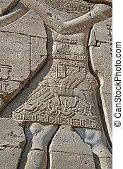 dendera, 15, temple, hiéroglyphes