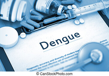 Dengue Diagnosis. Medical Concept. - Diagnosis - Dengue On ...