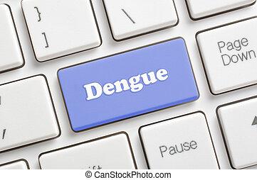 dengue, llave, teclado