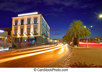 Denia village sunset in Alicante Spain - Denia village...