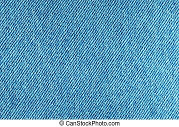 Denim Background - Macro of denim fabric for background use....