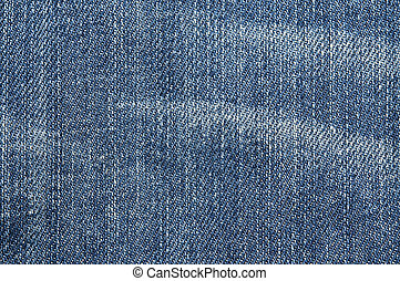 Denim - Close up shot of a blue denim