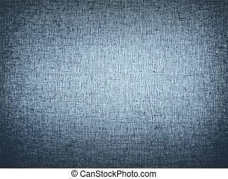 Denim Cloth Background - Blue denim cloth texture viewed up...