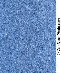 Denim fabric background - Linen striped textured blue denim...