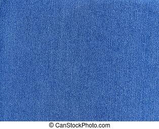 Denim jeans background - Striped textured blue jeans denim...