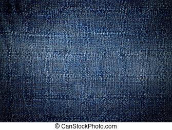Blue denim texture as background, jeans texture