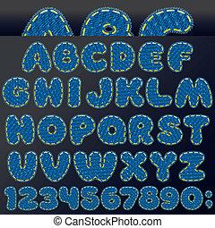 Denim Patch Font