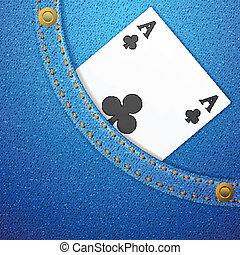 denim pocket and ace