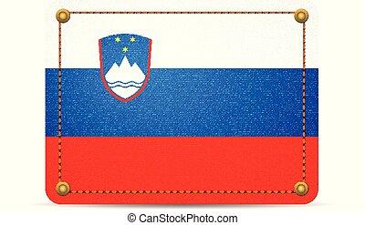 Denim Slovenia flag