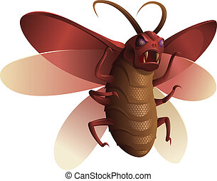 denkbeeldig, insect