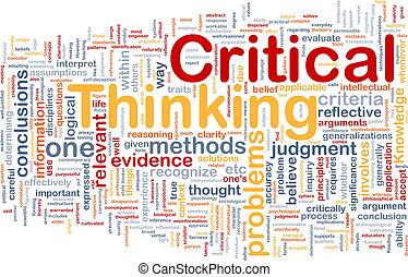 denken, begriff, kritisch, hintergrund