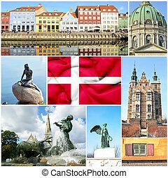 Denmark collage