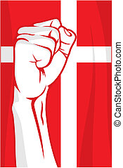 Denmark fist