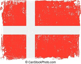 denmark flag vector.eps