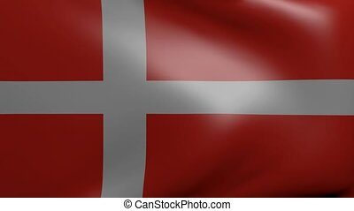 denmark strong wind flag