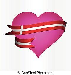 Denmark  Valentine's Card