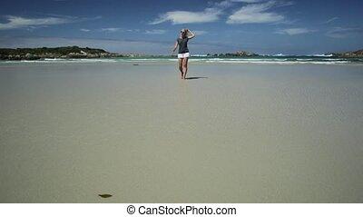 Denmark Western Australia Running - Active woman running on...