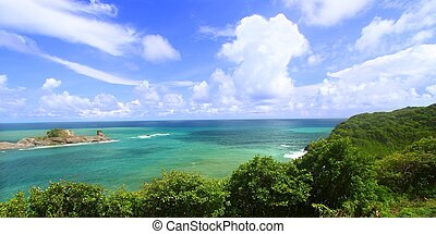 Dennery Bay - Saint Lucia - Beautiful Dennery Bay on the...