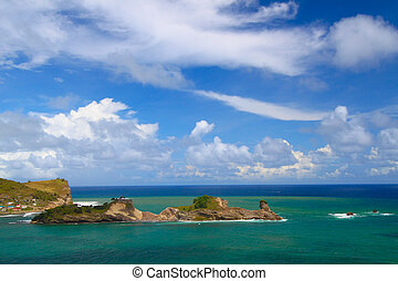Dennery Bay - St Lucia - Beautiful Dennery Bay on the...