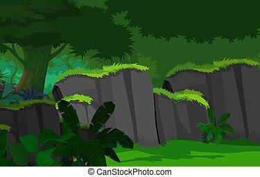 Dense Forest - Dark forest