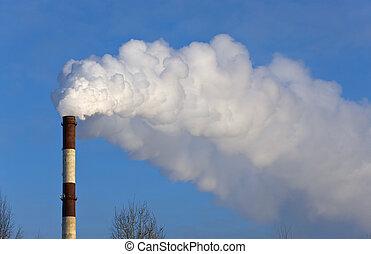 dense, fumée