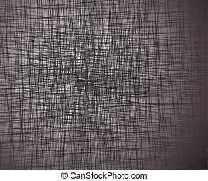 dense lines abstract background black and white