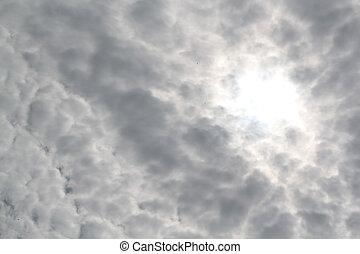 dense, nuages
