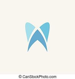 dent, symbole, illustration, élément, logo, signe, icône