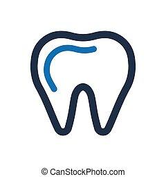 dentaal, pictogram