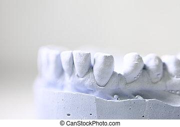 dentaire, dentiste, objets