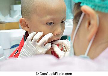 dentaire, examen