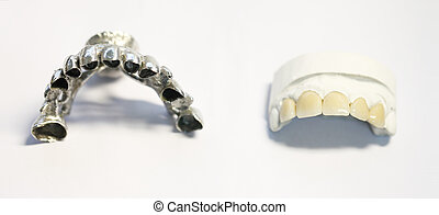 dentaire, objets, dentiste