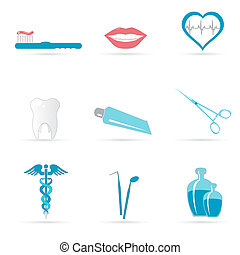 dental, ícones