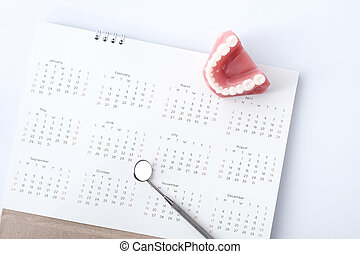 Dental appointment concept