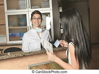 Dental Assistance Receptionist Appointment - A dental...