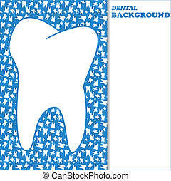 Dental background - New dental background with space for...