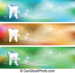 Dental banners