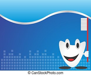 dental care background blank template