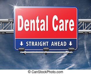 Dental care center oral hygiene or surgery for healthy teeth...