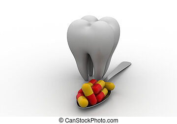 Dental care concept
