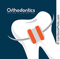 dental care - dental b care over blue background vector...